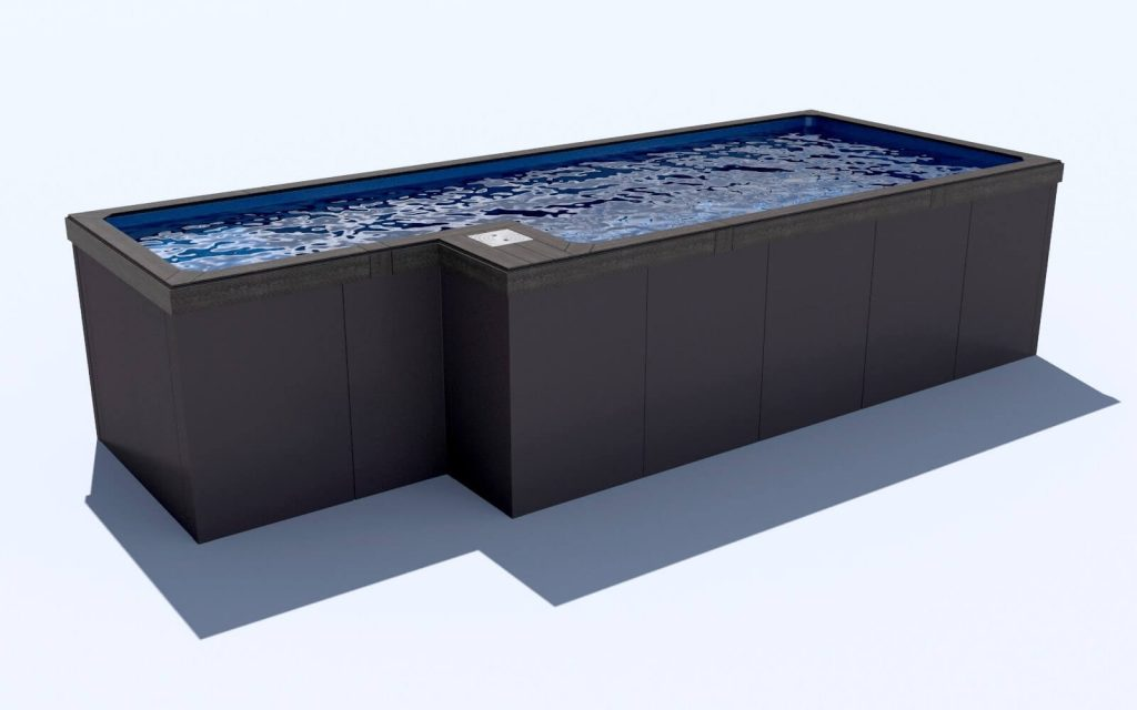 Compass Pools Sydney Swim spa alternatives Little Pools quality fibreglass above ground pools front view
